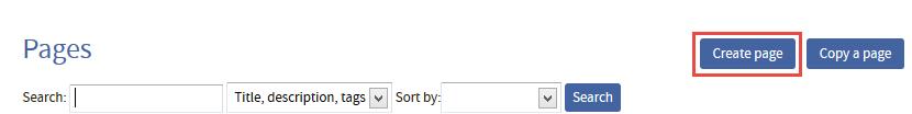 QMplus create page button