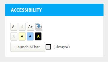 Accessibility Block