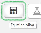 Snapshot of Equations Icon